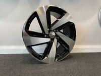 """18"""" New VW Milton style alloy wheels & tyres VW Jetta,Passat,Caddy Golf MK5,MK6,MK7 Etc 5x112"""