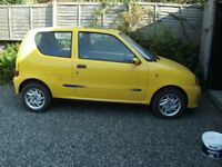 Fiat Siecento Sporting Yellow Spares or Repairs