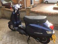 Sinnis Strada 125cc Scooter 64 Plate
