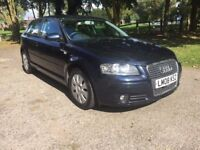 Audi A3 1.9 TDI E 3 Door 2008 Diesel ***£30 Road Tax*Fantastic Condition*Low Miles***