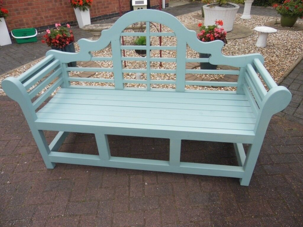 3 Seat Good Quality Garden Bench In Hucknall