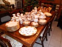 Job Lot Royal Albert Old Country Roses & Royal Worcester Gold Lustre China