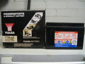 Motor cycle Battery.