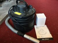 Ash vacuum cleaner - fireplace / BBQ cleaner with HEPA filter