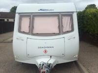 coachman 2006motor mover fixed bed