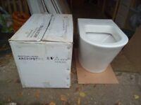 Victoria Plumb concealed cistern toilet pan
