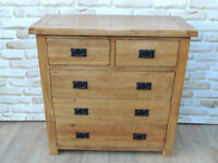 Oak Furniture land Chest of Drawers solid wood (Delivery)