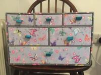 Small storage drawers