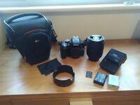 Nikon D3300 / DX 18-105 lens
