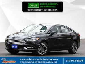 2017 Ford Fusion ***2.0L Eco Boost,  AWD, nav***