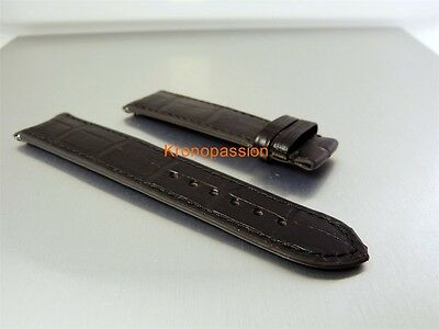 F.P.Journe Black Alligator Strap 21mm/19mm Regular Length New !