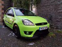 Mk6 Ford Fiesta 1.6 Zetec S Celebration green *low miles*