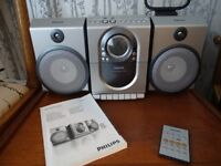 As new Philips music centre MC150 Micro system