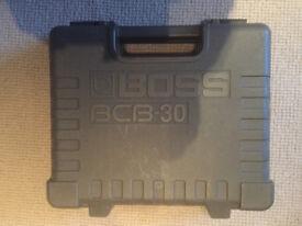 BOSS BC 30 PEDAL BOARD CASE.