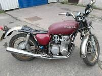 Honda cb 550 projects, others available