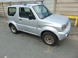 SUZUKI JIMNY 1.3 4X4 SPARES OR REPAIR OFF ROADER PROJECT