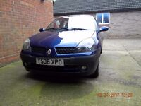 RENAULT CLIO 1.4 16V 2001