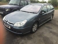 Swap Citroen C5 Turbo Diesel 6 Speed Estate 2007 for Caravan