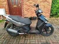 2011 Kymco Agility City 125 scooter, new 12 months MOT, very good runner, good condition, not ps sh,