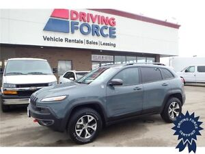 2015 Jeep Cherokee Trailhawk 4x4 - 64,657 KMs, 5 Passenger SUV