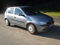 2003 03 Vauxhall Corsa 1.0lt 5 door club with MOT until 1st May 2017. Service history Drives A1
