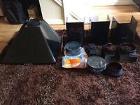 Hotpoint HHP6.5CM (Black) Cooker Hood