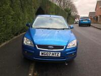 Ford Focus 1.6 Automatic Blue 2007 Service History 12 MONTHS MOT £1200