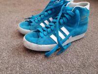 Adidas ladies trainer boots