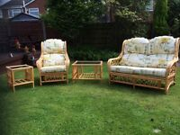 4 piece conservatory set - reduced for quick sale - excellent condition