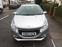 PEUGEOT 208 2013 ONLY £20 A YEAR ROAD TAX WITH 2 KEYS HPI CLEAR