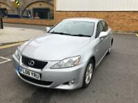 2008 LEXUS IS 220D 2.2TD , DIESEL FULL SERVICE HISTORY, VERY CLEAN CAR, DRIVES LIKE NEW HPI CLEAR