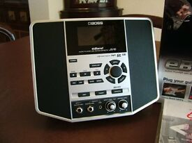 Boss eBand JS10. Guitar and Bass multi function practice amp.