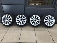 4 x Genuine Lexus/Toyota Alloys with Winter Continental Tyres TS850