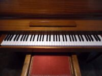 small upright piano by boyd of london 4ft wide