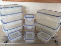 Kitchen lock tight containers storage boxes tubs Tupperware various sizes EXCELLENT CONDITION
