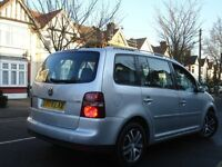 / VW VOLKSWAGEN TOURAN 1.9 TDI SE /// 2008 PLATE NEWER SHAPE /// PCO/UBER CAR / 7 SEATER ///