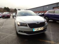 SKODA SUPERB 2.0 TDI CR SE Business 5dr (white) 2015