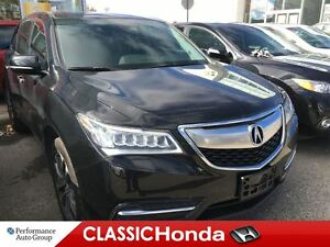2014 Acura MDX NAV PACK | LEATHER | ONE OWNER | REAR CAM | AWD
