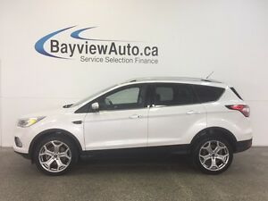 2017 Ford ESCAPE TITANIUM- 4WD! PANOROOF! APA! NAV! BLIS! SONY!