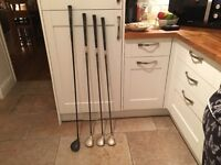 Golf clubs - Ladies Driver, 3, 5 & 7 Woods (Mizuno & Taylormade)