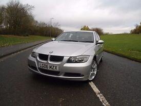 BMW 320d SE, Sat Nav, Bluetooth, Auto, M Sport alloys, leather, I Drive, FSH, terra cleaned, 12m MOT