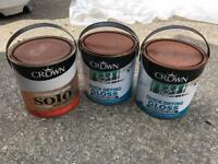 FREE! Full Tins of White Gloss Paint