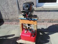 15hp four stroke shortshaft outboard