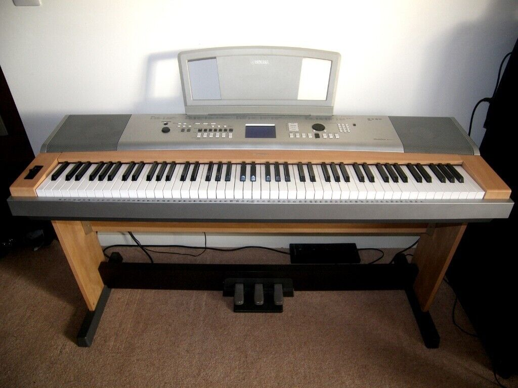 Yamaha DGX 630 , DGX630 , 88-Key Hammer Piano , 494 Voices , 160 Styles ,  Keyboard Stand and Pedals  | in Bristol | Gumtree