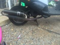 Piaggio Gilera Zx sports exhaust instant upgrade