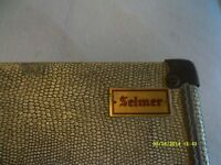 SELMER VINTAGE TENOR SAXOPHONE CASE , IN PERFECT CONDITION ,IN and OUT, A RARE FIND .