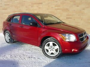 2008 Dodge Caliber SXT. WOW! Only 134000 Km! 5 speed manual!