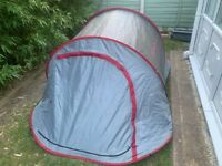 2 MAN POP UP TENT QUECHUA 2 SECONDS PITCH