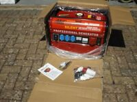 MIL ML8500W brand new petrol generator
