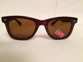 RayBan Wayfarer Sunglasses RB2140 (brown frame)